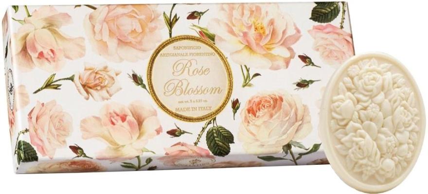 """Set di sapone artigianale """"Rose"""" - Saponificio Artigianale Fiorentino Rose Blossom (Soap/3x125g)"""