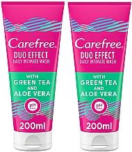 Profumi e cosmetici Set - Carefree Aloe Vera Intimate Gel (2xgel/200ml)