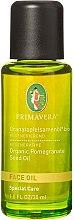 Profumi e cosmetici Olio rigenerante di melograno - Primavera Organic Pomegranate Seed Face Oil