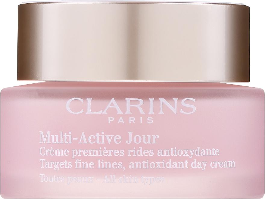 Crema giorno, per tutti i tipi di pelle - Clarins Multi Active Antioxidant Day Cream All Skin Type