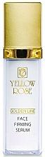 Profumi e cosmetici Siero rassodante con oro - Yellow Rose Golden Line Face Firming Serum