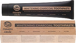 Profumi e cosmetici Dentifricio sbiancante naturale - Mohani Smile Whitening Charcoal Toothpaste