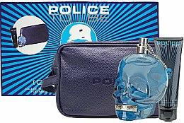 Profumi e cosmetici Police To Be Men - Set (edt/125ml + sh/gel/100ml + bag)