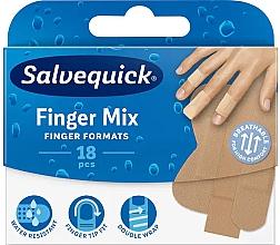 Profumi e cosmetici Cerotto per dita delle mani e dei piedi - Salvequick Finger Mix