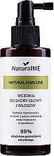 Profumi e cosmetici Lozione capelli anticaduta - NaturalME Natural Hair Line Lotion