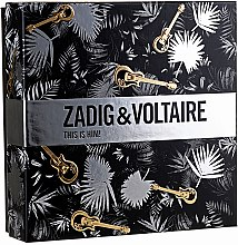 Profumi e cosmetici Zadig & Voltaire This is Him - Set (edt/50ml + sh/gel/100ml)
