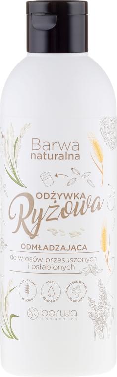 Condizionante per capelli secchi - Barwa Natural Rice Conditioner