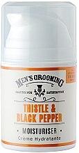 Profumi e cosmetici Dopobarba idratante - Scottish Fine Soaps Mens Grooming Thistle & Black Pepper Moisturiser