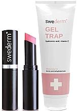 Profumi e cosmetici Set - Swederm (b/gel/250ml + lip/balm/3.5ml)