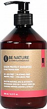 Profumi e cosmetici Shampoo per capelli colorati - Beetre Be Nature Color Protect Shampoo