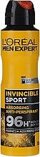 Profumi e cosmetici Deodorante antitraspirante per uomo - L'Oreal Men Expert Invincible Sport Deodorant 96H