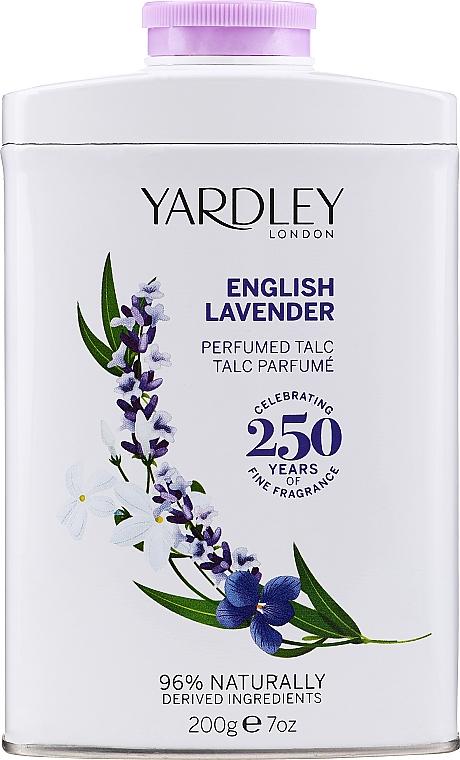 Talco corpo profumato - Yardley English Lavender Perfumed Talc