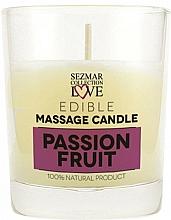 """Profumi e cosmetici Candela da massaggio naturale """"Frutto della passione"""" - Sezmar Collection Passion Fruit"""