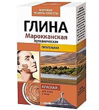 """Profumi e cosmetici Argilla nutriente viso e corpo """"Marocchino"""", rosso - Fito cosmetica"""