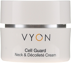 Profumi e cosmetici Crema per collo e decollete - Vyon Cell Guard Neck and Dekollete Cream