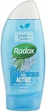Profumi e cosmetici Gel doccia - Radox Feel Active Shower Gel