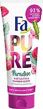 """Profumi e cosmetici Gel doccia """"Cactus e bambù"""" - Fa Pure Paradise Shower Gel Cactus & Bamboo"""