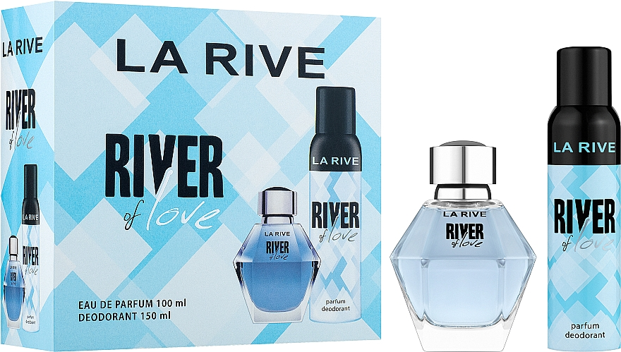 La Rive River Of Love - Set (edp/100ml + deo/150ml)