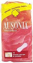 Profumi e cosmetici Assorbenti igienici Anatomica Sanitary Towels, 14 pz - Ausonia