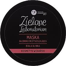 Profumi e cosmetici Maschera viso purificazione profonda all'argilla bianca - Zielone Laboratorium
