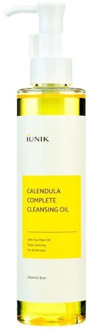 Olio detergente idrofilo calmante con calendula - IUNIK Calendula Complete Cleansing Oil