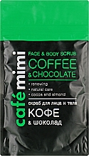 """Profumi e cosmetici Scrub viso e corpo """"Caffè e Cioccolato"""" - Cafe Mimi Scrub"""