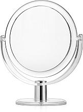 Profumi e cosmetici Specchio cosmetico bifacciale, cornice, d 16 cm - Titania
