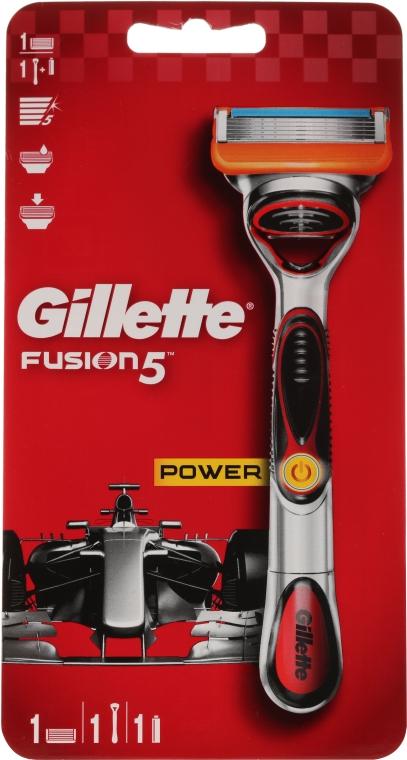 Rasoio con 1 cartuccia rimovibile - Gillette Fusion5 ProGlide Power