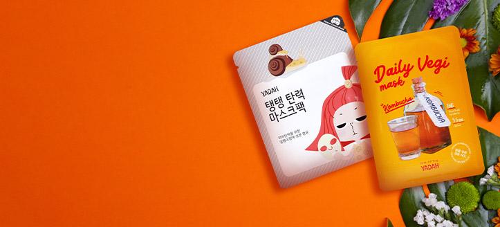 Acquistando prodotti Yadah da 12 €, ricevi in regalo una maschera viso