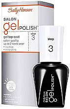 Profumi e cosmetici Top coat per gel-smalto - Sally Hansen Salon Gel Polish Gel Top Coat