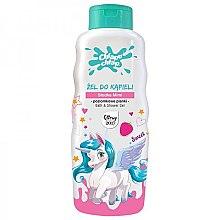 Profumi e cosmetici Gel doccia per bambini, con l'aroma di fragole - Chlapu Chlap Bath & Shower Gel