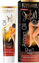 Profumi e cosmetici Crema depilatoria 9in1 - Eveline Cosmetics Argan Oil