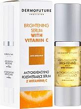Profumi e cosmetici Siero con vitamina C - DermoFuture Brightening Serum With Vitamin C