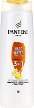 Profumi e cosmetici Shampoo-balsamo per capelli - Pantene Pro-V Hard Water Shield 5 3in1 Shampoo
