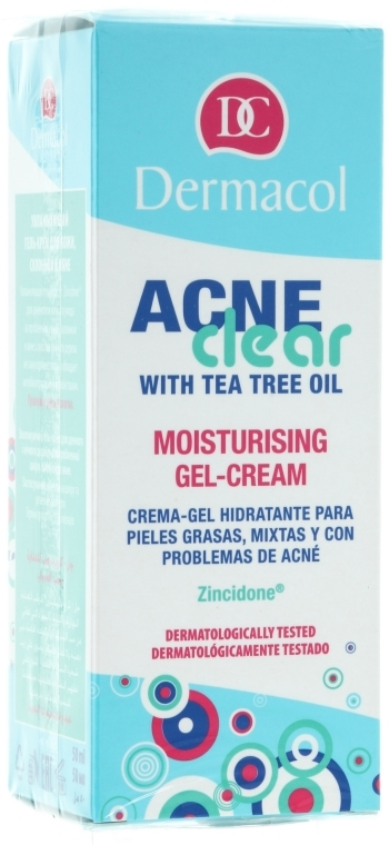 Gel-Crema idratante - Dermacol Acne Clear Moisturising Gel-Cream