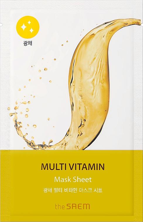 Maschera viso in tessuto - The Saem Bio Solution Radiance Multi Vitamin Mask Sheet