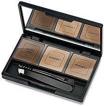Profumi e cosmetici Kit per sopracciglia - Golden Rose Eyebrow Styling Kit
