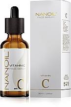 Profumi e cosmetici Siero viso illuminante con vitamina C. - Nanoil Face Serum Vitamin C