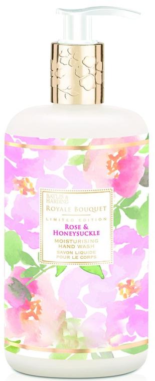 Sapone liquido mani - Baylis & Harding Royale Bouquet Rose and Honeysuckle Hand Wash