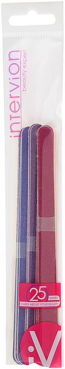 Lima per unghie in carta bifacciale, grana grossa 100 grit - Inter-Vion