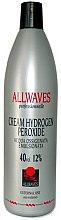 Profumi e cosmetici Crema ossidante - Allwaves Cream Hydrogen Peroxide 12%