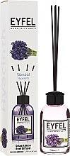 "Profumi e cosmetici Diffusore aromatico ""Giacinto"" - Eyfel Perfume Reed Diffuser Hiacynt"