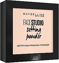 Profumi e cosmetici Cipria fissaggio opaco - Maybelline Facestudio Setting Powder
