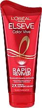 Profumi e cosmetici Balsamo per capelli colorati - L`Oreal Paris Elseve Rapid Reviver Dry Hair Conditioner