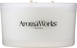 "Candela profumata ""Armonia"" con 3 stoppini - AromaWorks Harmony Candle 3-wick — foto N3"