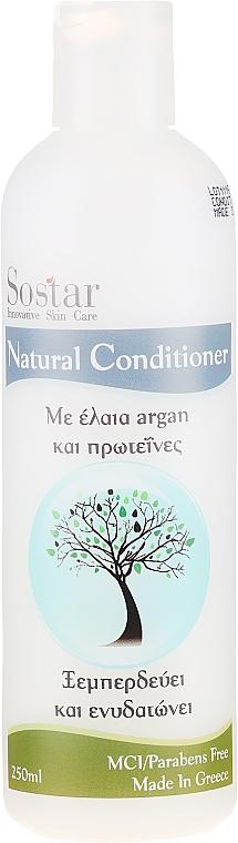 Condizionante idratante per capelli - Sostar Focus Argan Oil & Protein Conditioner
