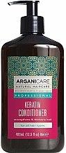 Profumi e cosmetici Balsamo alla cheratina per tutti i tipi di capelli - Arganicare Keratin Conditioner