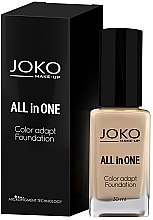 Profumi e cosmetici Fondotinta in crema - Joko All In One Foundation