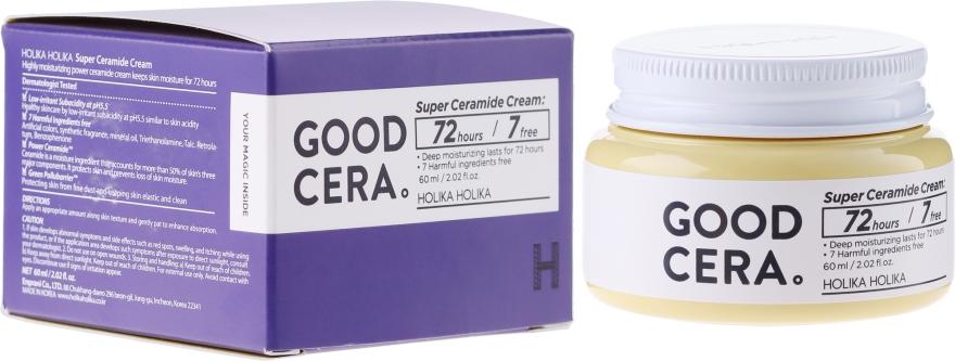 Crema viso alla ceramide - Holika Holika Good Cera Super Cream Sensitive