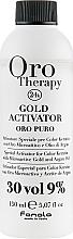 Profumi e cosmetici Agente ossidante con microparticelle d'oro 9% - Fanola Oro Gold